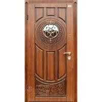 ABWEHR Metāla durvis ar MDF apdari LUCK (AP1) 860/960x2050 (Ozols patina)